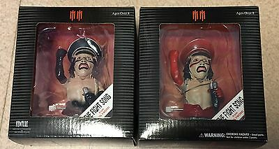 NEW Marilyn Manson THE FIGHT SONG Black & Red 2SET wind up action figure Fewture