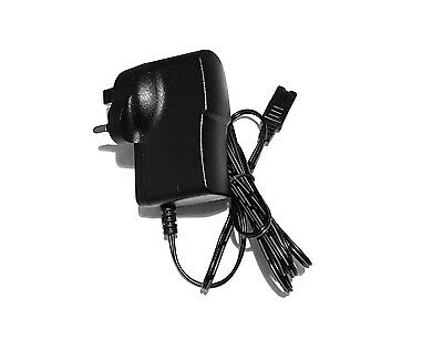 Mains Power Charger Uk Plug For Wahl 5 Star Finale Shaver Shaper 8164