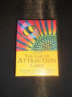 The Law Of Attraction Oracle Cards Deck By Esther & Jerry Hicks - Boxed Complete