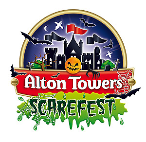 ALTON TOWERS ** SCAREFEST ** Tickets available -  TUESDAY 31ST OCT 2017