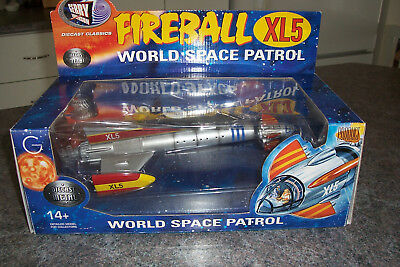 Fireball XL5 Product Enterprise Diecast