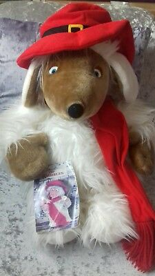 """The Wombles Orinocco Womble plush hot water bottle cover 23"""""""