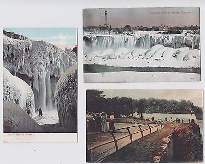 Niagara Falls Post Cards (6 in all) Pre 1910