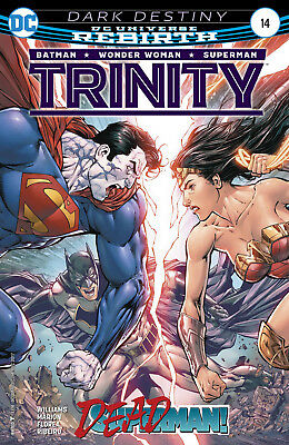 Trinity #14 (2017) 1St Printing Bagged & Boarded Dc Universe Rebirth