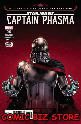 Journey To Star Wars Last Jedi Capt Phasma #4 (Of 4) (2017) 1St Printing Marvel