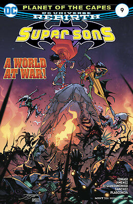 Super Sons #9 (2017) 1St Printing Bagged & Boarded Dc Universe Rebirth