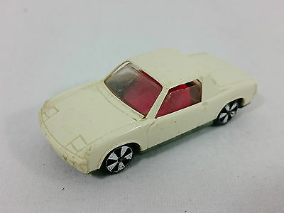 FALLER Hit Car HitCar VW Porsche 914 / 6 White with Red Interior VINTAGE GERMANY