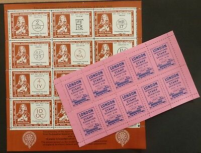 1960, Stamps - ( London International Stamp Exhibition )