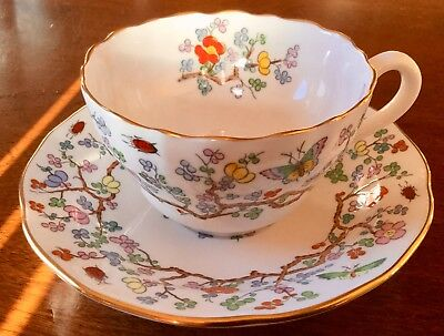 Vintge Spode * Shanghai * Cup And Saucer * # G53 *  Free Shipping