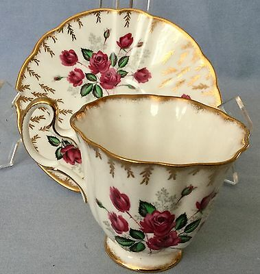 Vintage ROYAL ADDERLEY Fine Bone China Cup and Saucer * FREE SHIPPING