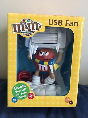 M&M's Red USB Fan - *RARE*