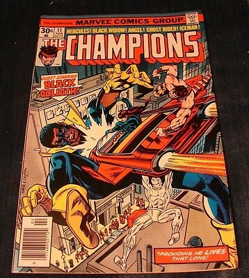 Vintage Silver Age THE CHAMPIONS 11 FEB VINTAGE MARVEL COMIC (WAT)
