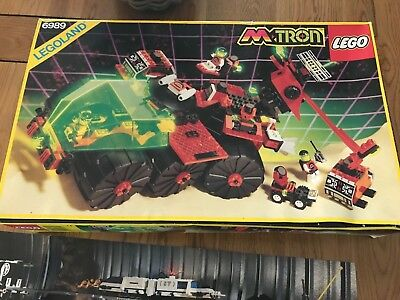 LEGO Space M-Tron Mega Core Magnetizer (6989) complete with box Retro Vintage