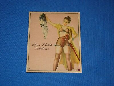 1944 American Beauties R59 Gum Inc, MISS-PLACED CONFIDENCE (L)