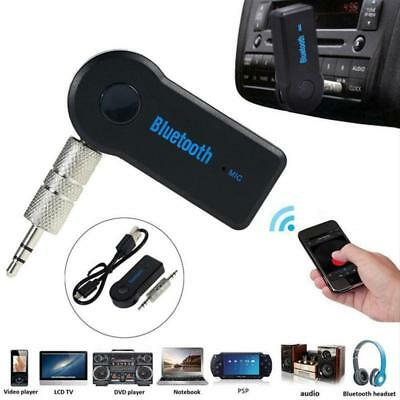 Wireless Bluetooth 3.5 mm-Phone-To AUX Car Stereo Music