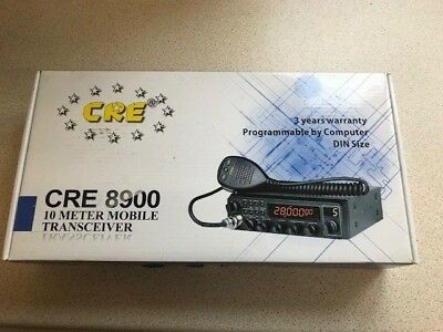 new other (CRE 8900) v2 10M 11M CB / AMATEUR RADIO