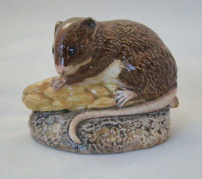 Vintage Beswick Harvest Mouse. Designed by Martyn Alcock.