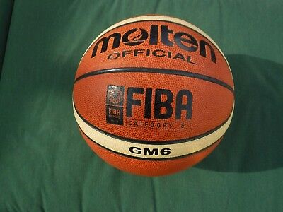 Molten Basketball GM6 FIBA Approved Size 6