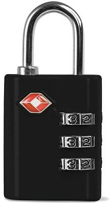 TSA Security 3 Combination Travel Suitcase Luggage Bag Code Lock Padlock UK