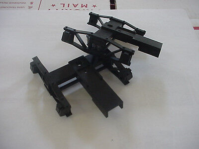 Delton G Scale working spring freight car truck pair