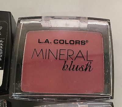 L. A. Colors Mineral Blush Compact With Brush And Mirror