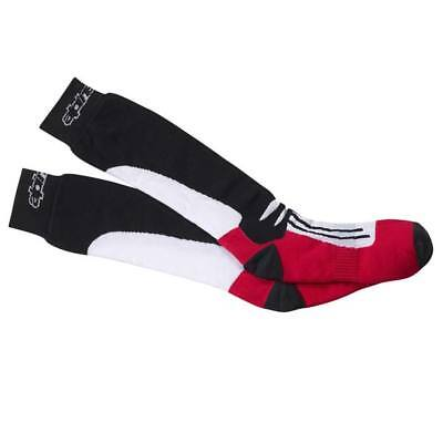 Alpinestars Road Racing Long Socks Black/White/Red SM/MD