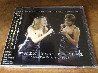 Mariah Carey - When You Believe - 1998 Japanese Promo only Single.Very Rare.