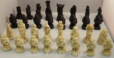 Tolkien Ent Chess Lord of the Rings Chess Set Box VG+