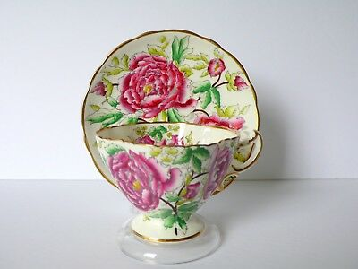 Hammersley Floral Bone China Cup & Saucer Set