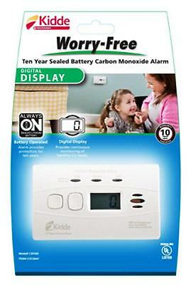 Kidde  Worry-Free, 10 Year Carbon Monoxide Alarm, with Digital Display 21010047