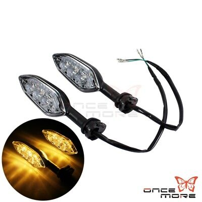 2pcs Turn Signal Amber Indicator Light Lamp For YAMAHA YZF R1 R6 R15 R125 FZ-6R