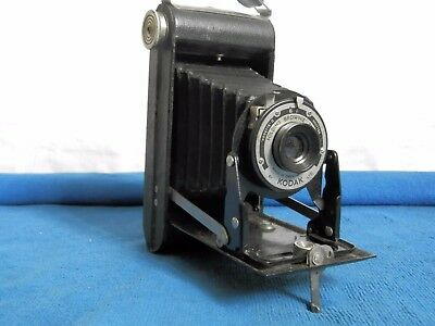 "Kodak Folding ""Brownie"" model SIX-20, clean little camera"