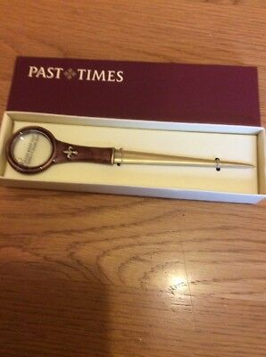 Past Times Magnifying Glass Letter Opener