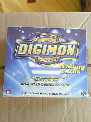 Digimon Trading Cards Animated Series Display sealed