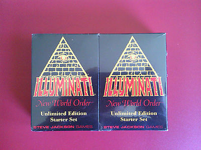ILLUMINATI Card Game 1994 2 Player Starter Set sealed english