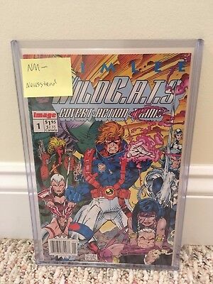 WILDC.A.T.S. #1 NM- NEWSSTAND/UPC CGC-RECOGNIZED VARIANT 1:20 Census Rarity