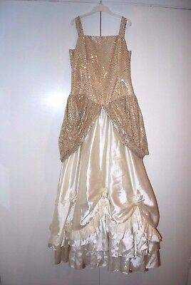 Pantomime costume: Stunning Principal Girl Finale Gown