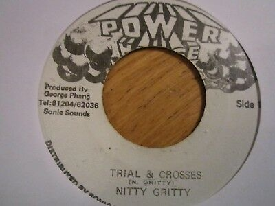 """RARE KILLER  """"trial & crosses""""   NITTY GRITTY"""