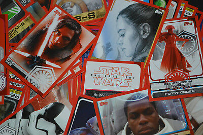 Topps STAR WARS Journey to The Last Jedi Trading Card (BUY 4 GET 8 FREE)