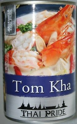12x 400ml Tom Kha Kokos Suppe Thai Pride Posten Asia Lebensmittel MHD 27.10.17