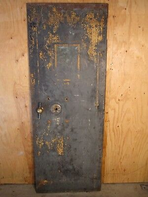 Antique Vintage Safe Vault Door 1800S From Telluride Silverton Ouray Co Area