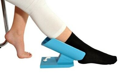 Plastic pad Sock Aid Stocking disability aid NO Pending or backaches back pain