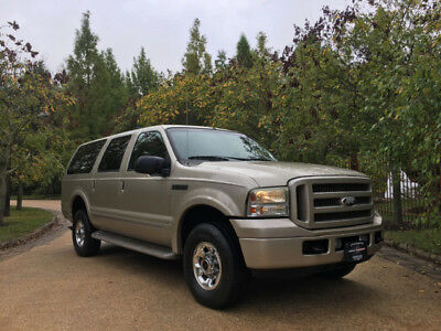2005 Ford Excursion Limited Sport Utility 4-Door 80k low mile limited free shipping warranty finance loaded clean carfax