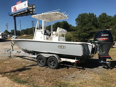 2016 Sea Hunt Center Console Boat RZR 22 Yamaha 150 SHO T Top No Reserve!!!!!!