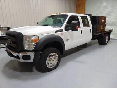 2013 Ford F-450 XL 2013 Ford F 450 Work Truck Flat Bed Cheap 6.7 Powerstroke Diesel 2wd High Miles!