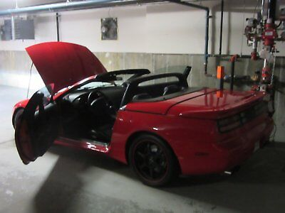 Nissan: 300ZX Leather 1993 Nissan 300ZX Convertible Mint Condition Classic Rare