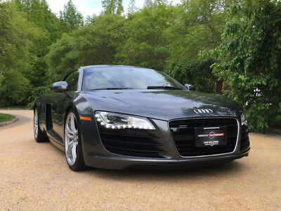 2009 Audi R8 Base Coupe 2-Door 30k low mile free shipping warranty exotic quattro collector 4.2 clean carfax