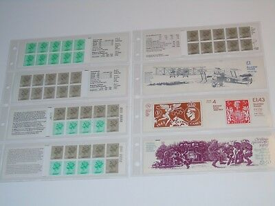 Stamp Pickers Great Britain Decimal Currency Booklets Lot All Complete MNH x 5