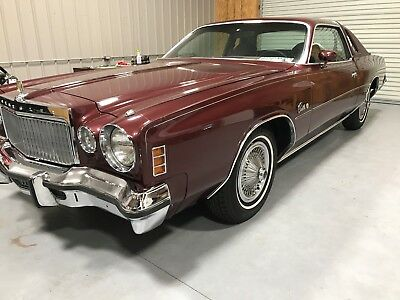 1977 Chrysler Cordoba  1977 Chrysler Cordoba 2 Door Coupe Nice Classic Car Rust Free No Reserve!!!!