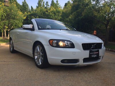 2009 Volvo C70 T5 Convertible 2-Door free shipping warranty clean turbo loaded luxury safe sporty cheap con